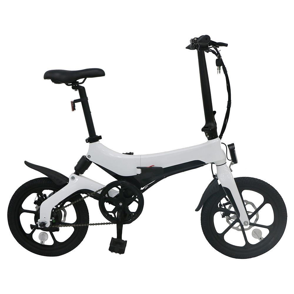 "Zložljivo električno kolo | eVozilo | M40 | 16"" | bela barva"